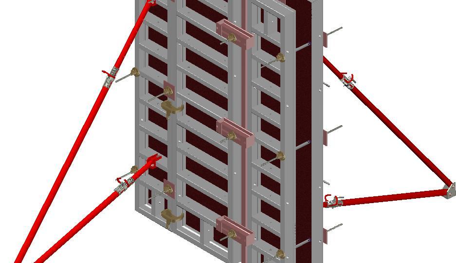 для монтаж опалубки для стен по радиусу автолюбителя